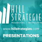 Hill Strategies Research presentations